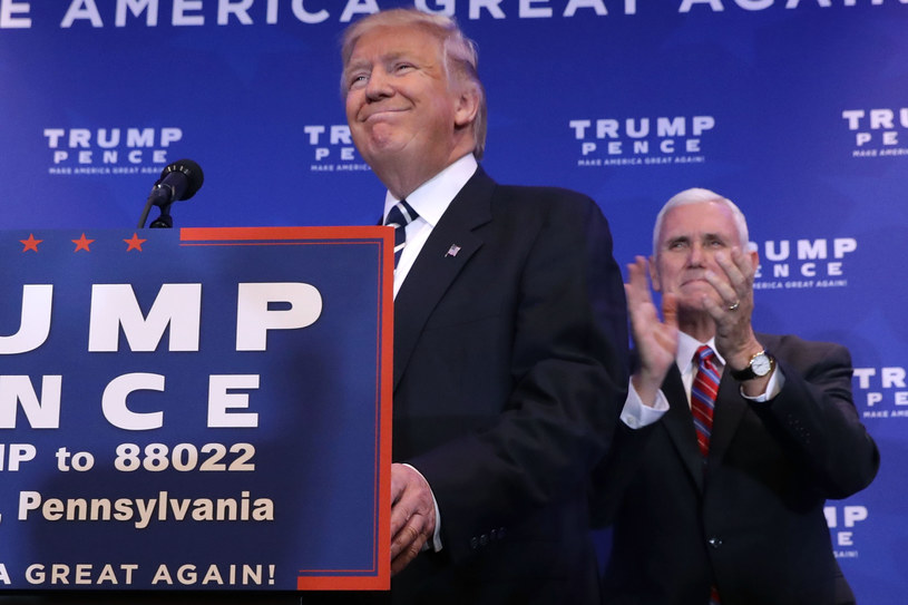 Donald Trump i Mike Pence /Getty Images