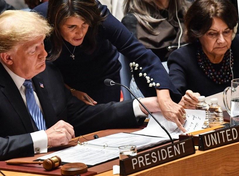 Donald Trump i Nikki Haley /AFP