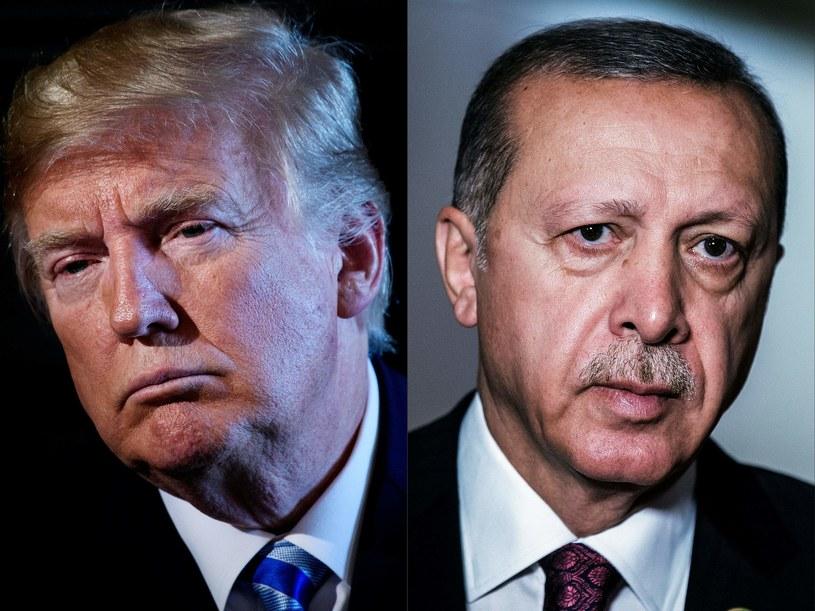 Donald Trump i Recep Erdogan /BRENDAN SMIALOWSKI; GIANLUIGI GUERCIA /AFP