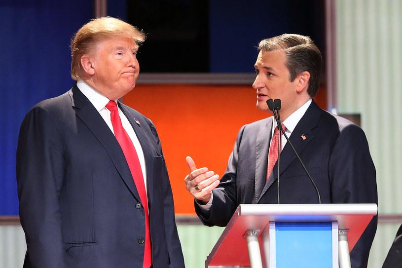 Donald Trump i Ted Cruz /AFP