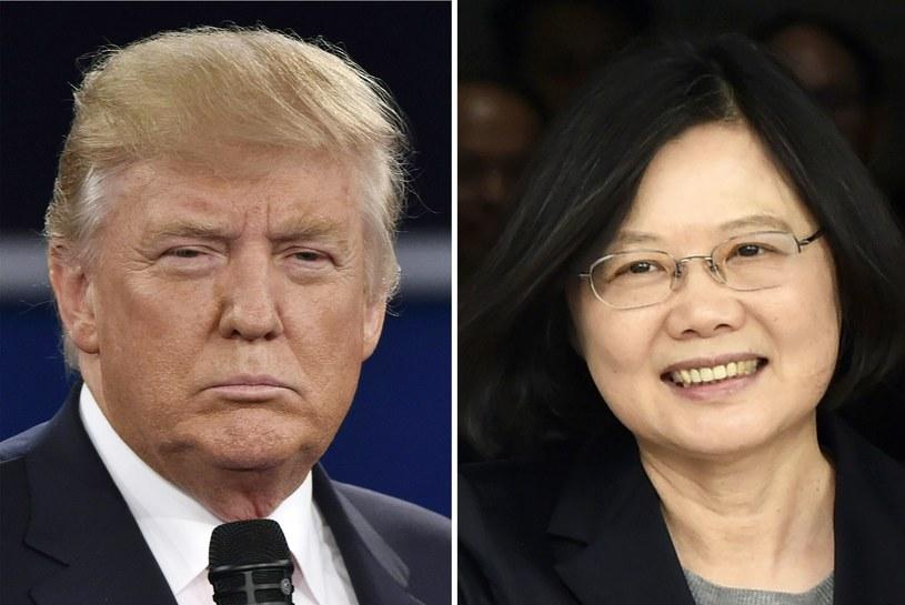 Donald Trump i Tsai Ing-wen /AFP