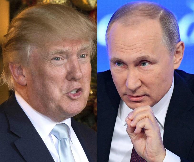 Donald Trump i Władimir Putin /AFP