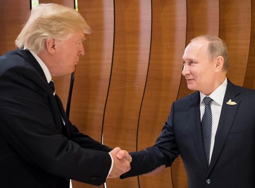 Donald Trump i Władimir Putin /PAP/EPA