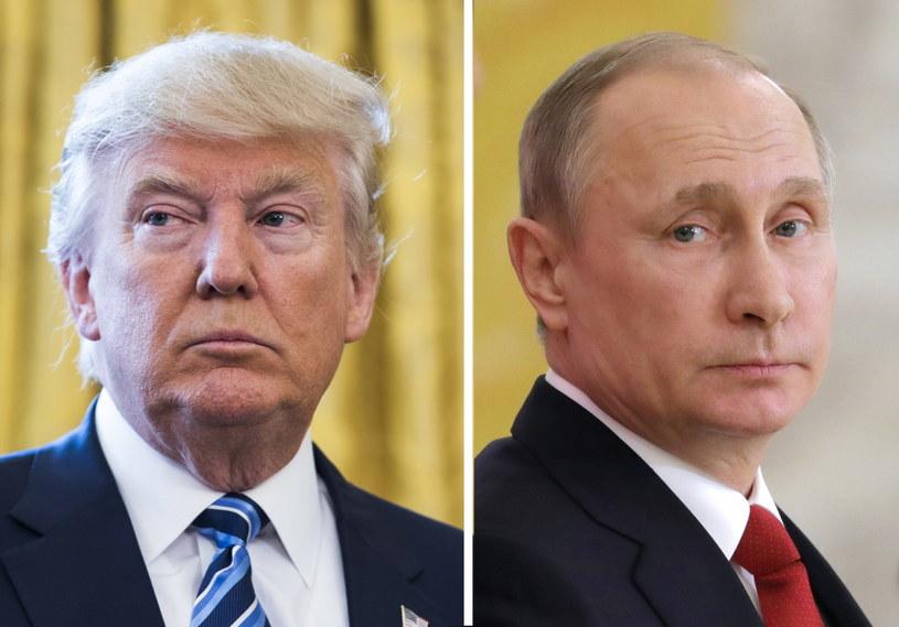 Donald Trump i Władimir Putin /JIM LO SCALZO / SPUTNIK POOL  /PAP/EPA