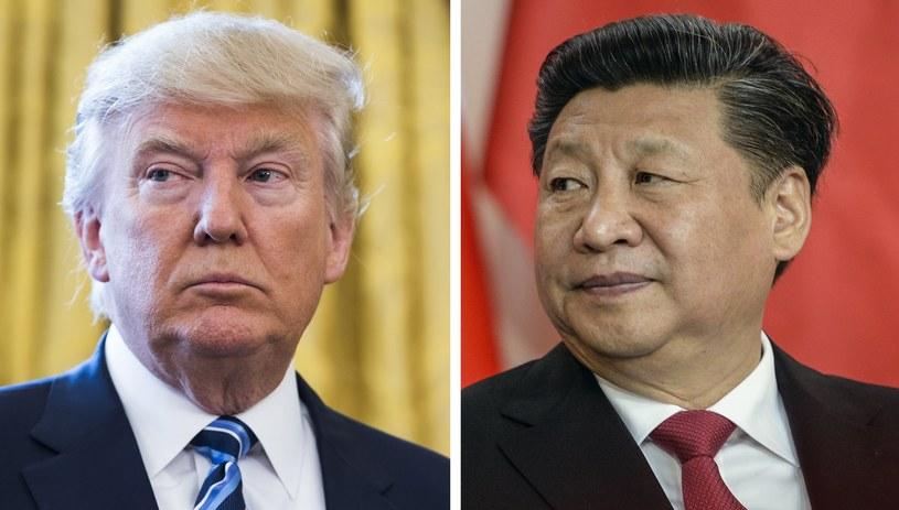 Donald Trump i Xi Jinping /PAP/EPA /PAP/EPA