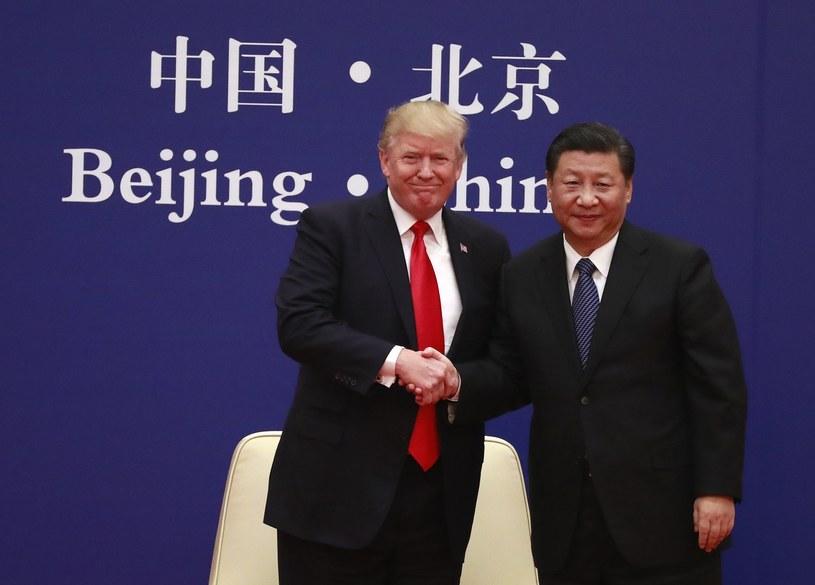 Donald Trump i Xi Jinping /Xinhua /PAP/EPA
