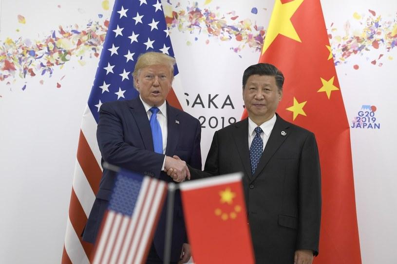 Donald Trump i Xi Jinping /Susan Walsh/AP/Associated Press /East News