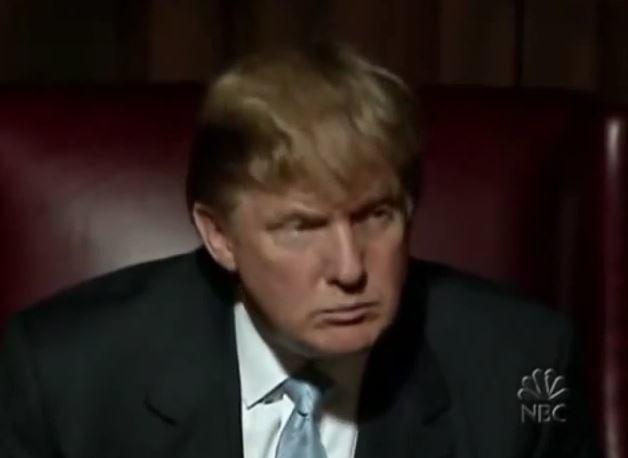 """Donald Trump jako prowadzący """"Celebrity Apprentice"""" w 2014 roku /YouTube"""