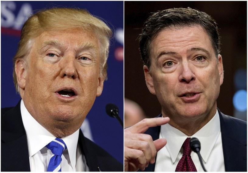 Donald Trump, James Comey /Evan Vucci, Andrew Harnik /East News