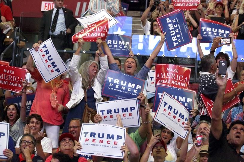 Donald Trump jest kandydatem Partii Republikańskiej w wyborach prezydenckich w USA /EPA/CRISTOBAL HERRERA /PAP/EPA