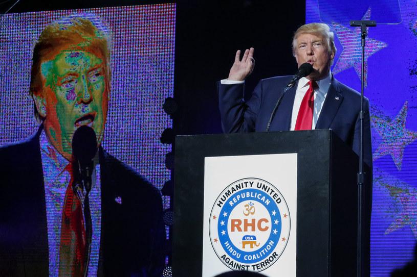Donald Trump - kandydat na prezydenta USA /Getty Images