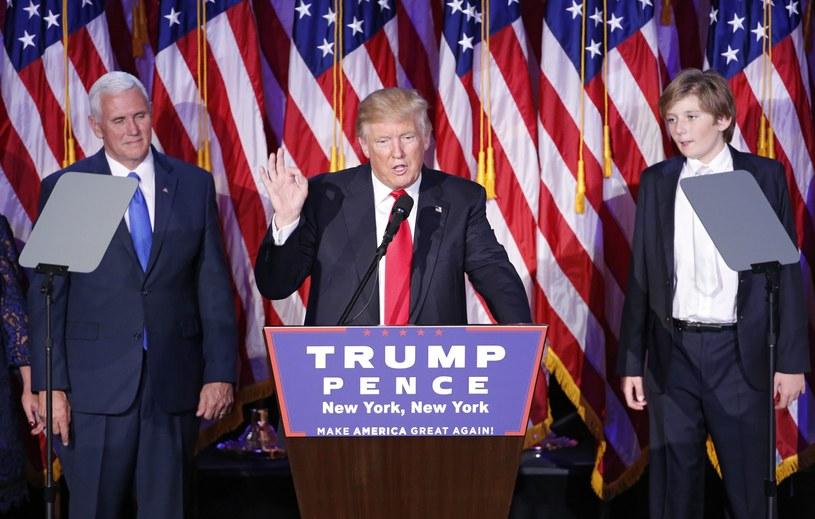Donald Trump - kolejny prezydent USA /PAP/EPA