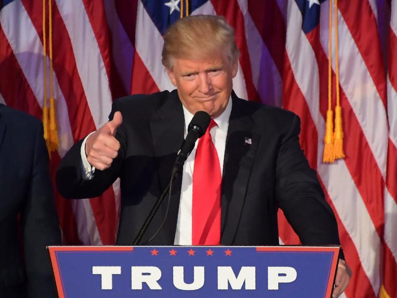 """""""Donald Trump ma potencjał, by odnieść niewiarygodny sukces"""" /AFP"""