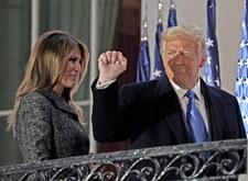 Donald Trump mówi o dowodach na oszustwa wyborcze. Melania przekonuje go, by uznał porażkę