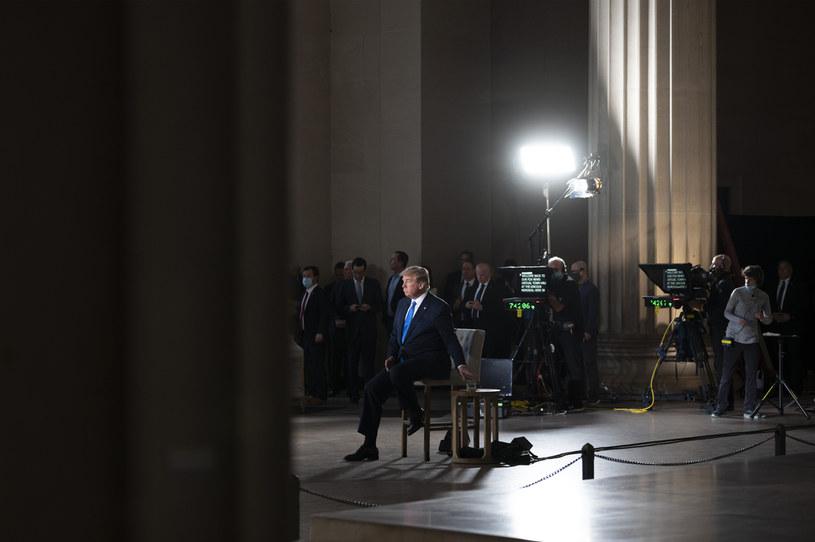 Donald Trump na antenie Fox News /AFP