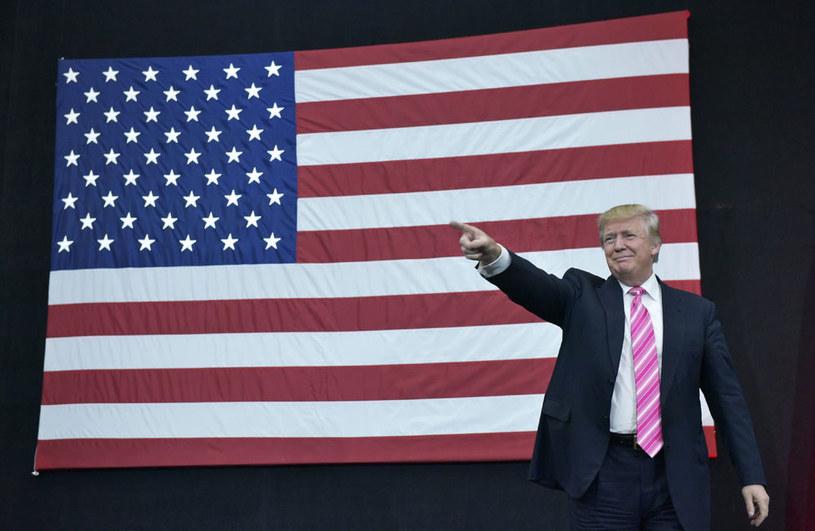 Donald Trump: Nie płaciłem podatków federalnych? Bo jestem inteligentny /AFP