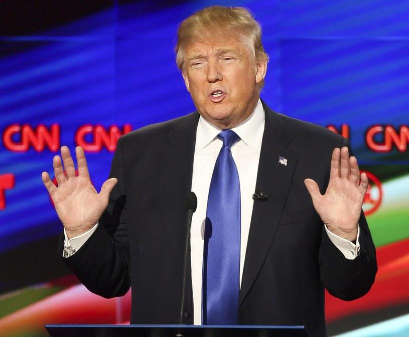 Donald Trump pod ostrzałem podczas debaty /PAP/EPA