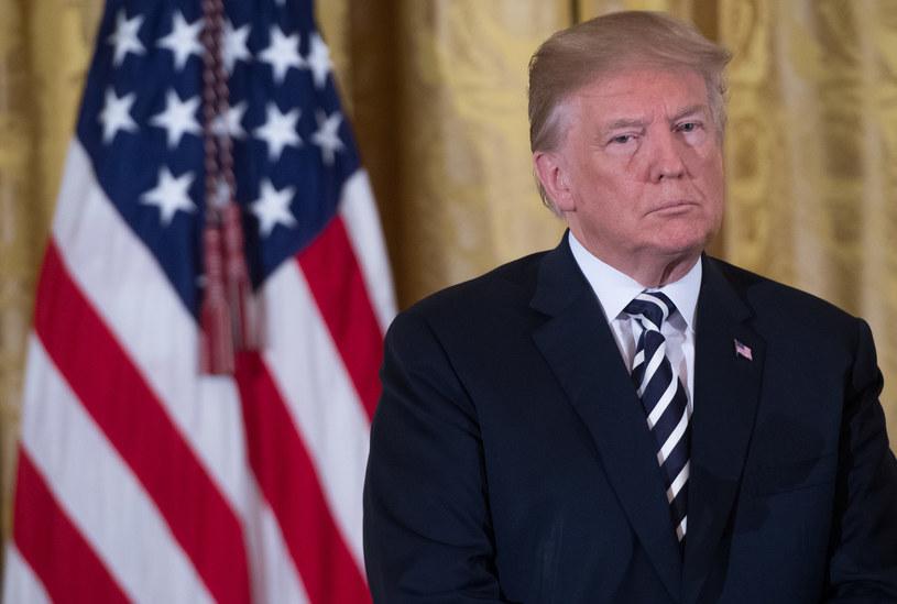 Donald Trump podpisał ustawę JUST w sprawie zwrotu mienia ofiar Holokaustu /SAUL LOEB /AFP