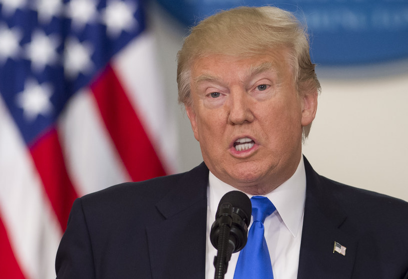 Donald Trump poprze ustawę zaostrzającą sankcje wobec Rosji /SAUL LOEB /AFP