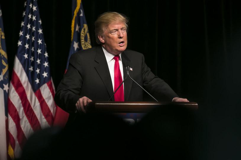 Donald Trump, prezydent Stanów Zjednoczonych /123RF/PICSEL
