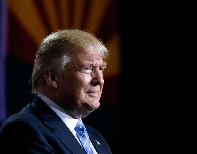 Donald Trump przedstawił swój plan reformy systemu imigracyjnego /Ralph Freso / GETTY IMAGES NORTH AMERICA /AFP
