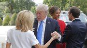Donald Trump skomentował wygląd Brigitte Macron
