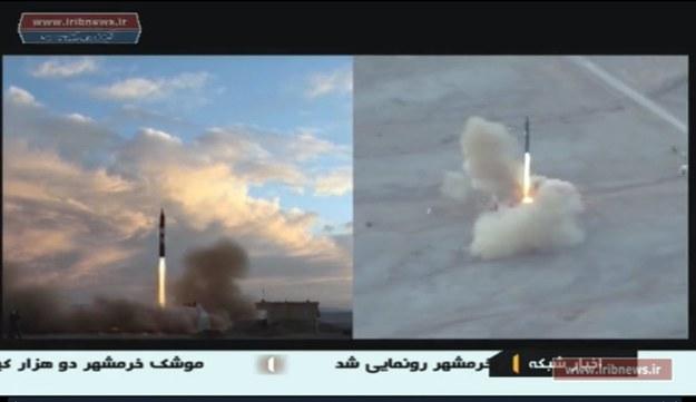 Donald Trump: Test irańskiej rakiety podważa porozumienie nuklearne /IRIB TV HANDOUT /PAP/EPA