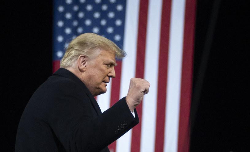 Donald Trump w Georgii /AFP