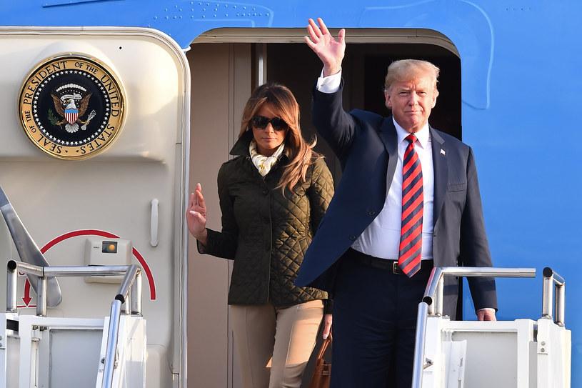 Donald Trump w Szkocji /AFP