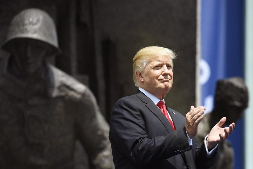 Donald Trump w Warszawie /PAP/EPA