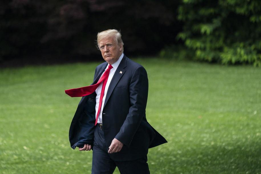 Donald Trump wycofał Stany Zdjednoczone z umowy nuklearnej /PAP/EPA/JIM LO SCALZO /PAP/EPA