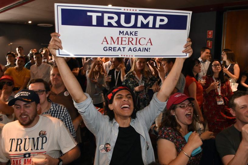 Donald Trump wygrał wybory prezydenckie w USA /PAP/EPA