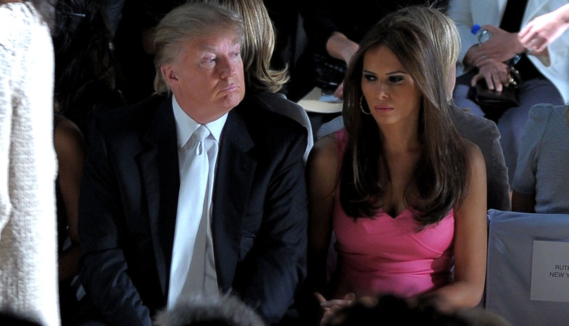 Donald Trump z żoną Melanią /Michael Loccisano /Getty Images