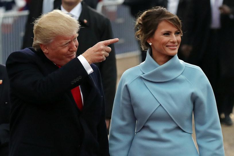 Donald Trump z żoną /DREW ANGERER /Getty Images