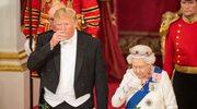 Donald Trump zasnął podczas przemówienia królowej Elżbiety? Wideo hitem sieci