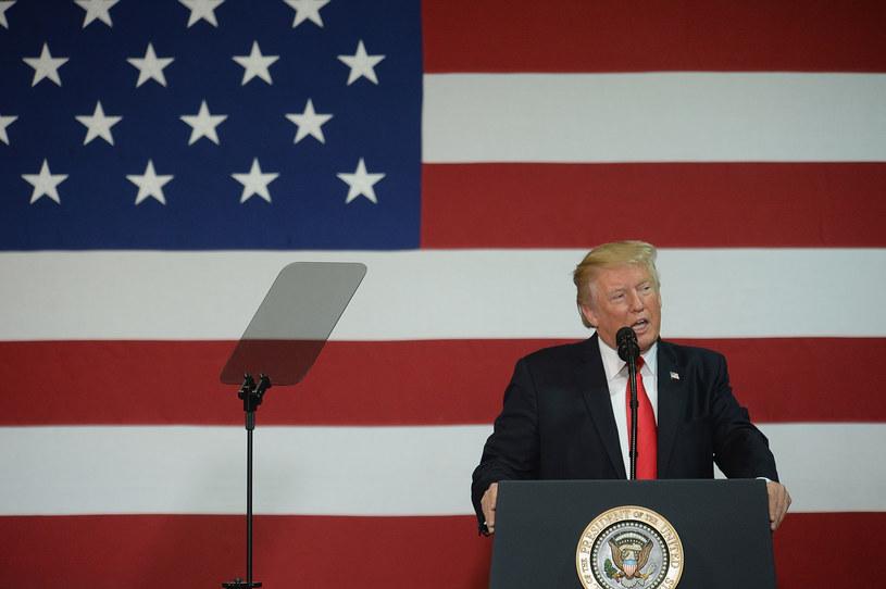 Donald Trump zdecydował o zakończeniu programu DACA /Michael B. Thomas / GETTY IMAGES NORTH AMERICA  /AFP