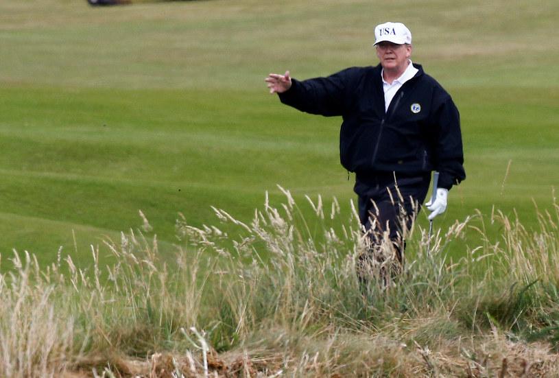 Donald Trump; zdj. ilustracyjne /REUTERS/Henry Nicholls /Agencja FORUM