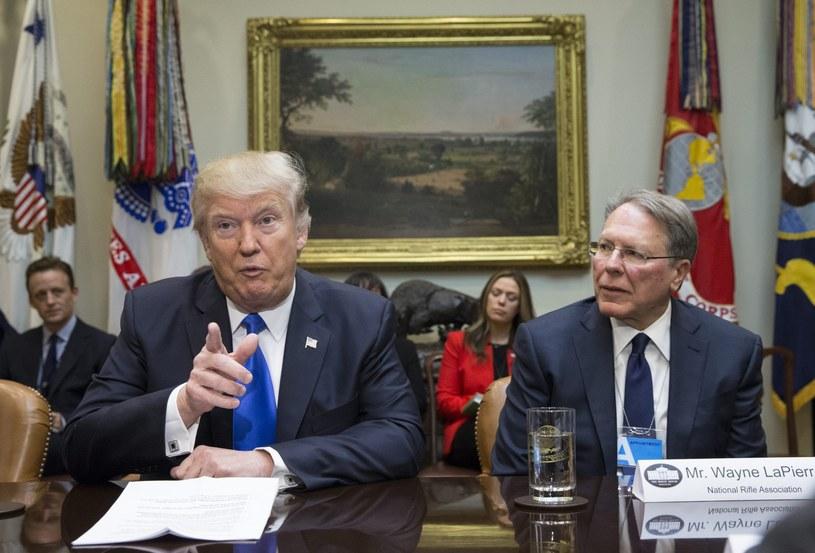 Donald Trump znów szokuje /PAP/EPA