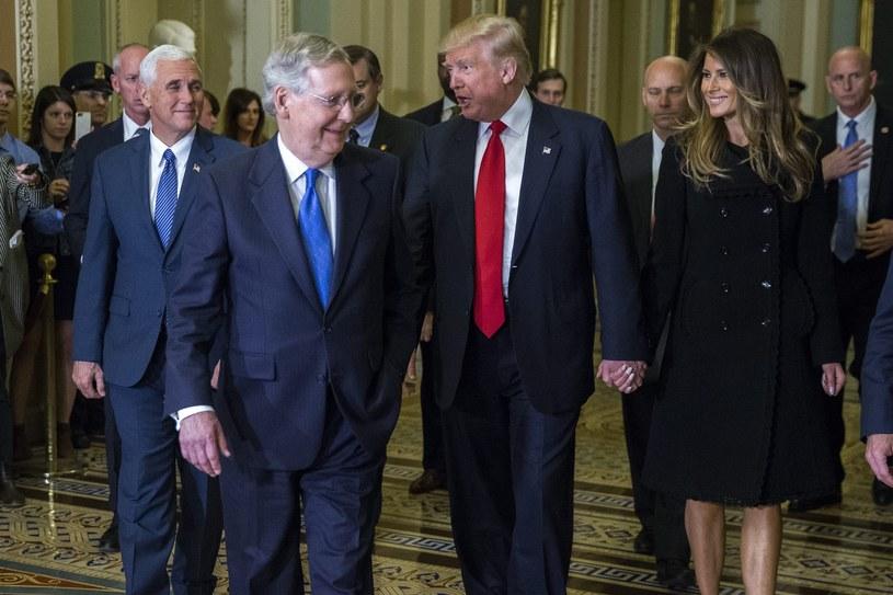 Donald Trump - zwycięzca wyborów prezydenckich w USA /PAP/EPA
