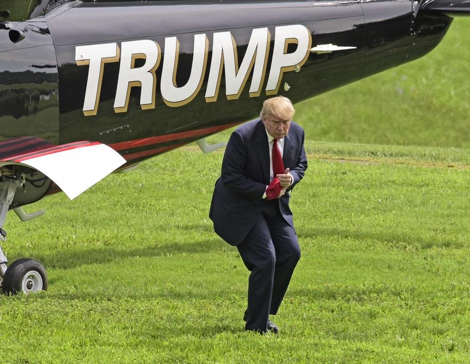 Donald Trump /Ron Sachs/CNP/Newscom /PAP
