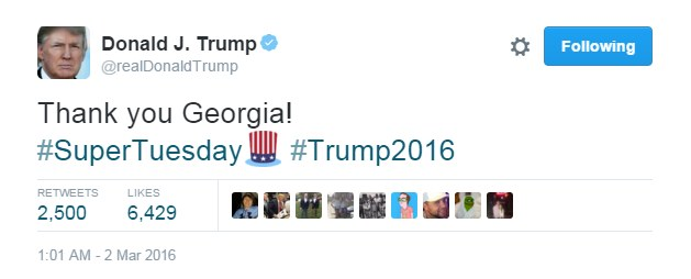 Donald Trump /Twitter