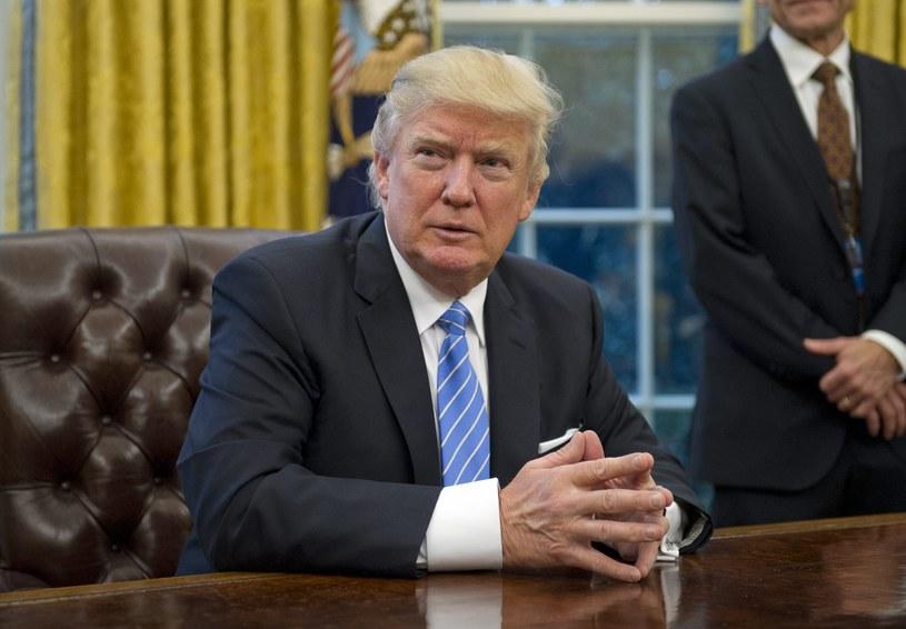 Donald Trump /Ron Sachs    /PAP/EPA