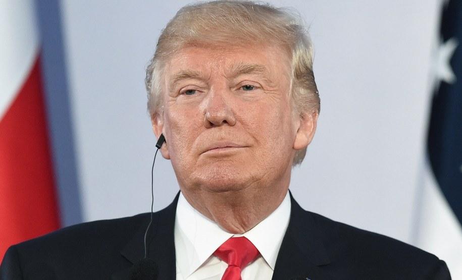 Donald Trump /Radek Pietruszka /PAP