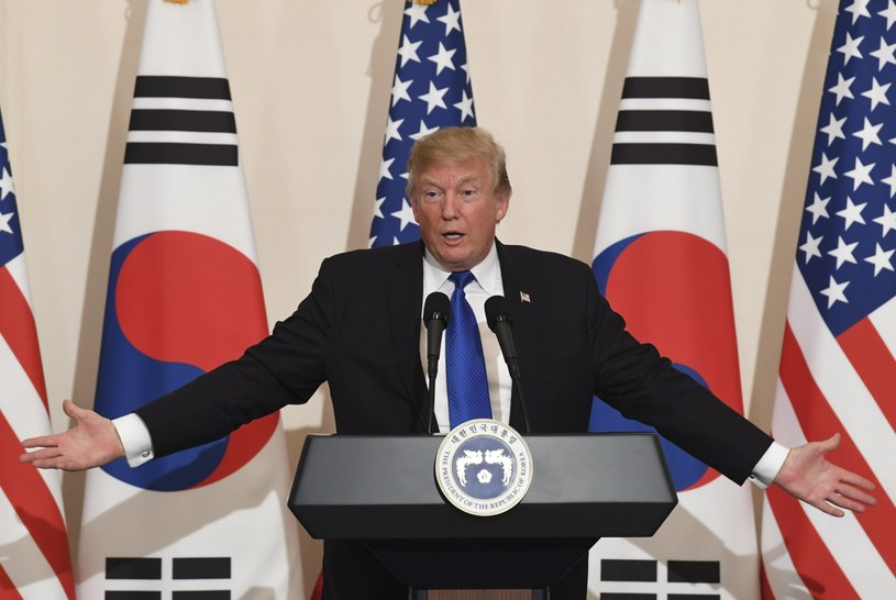 Donald Trump /KIM MIN-HEE /PAP/EPA