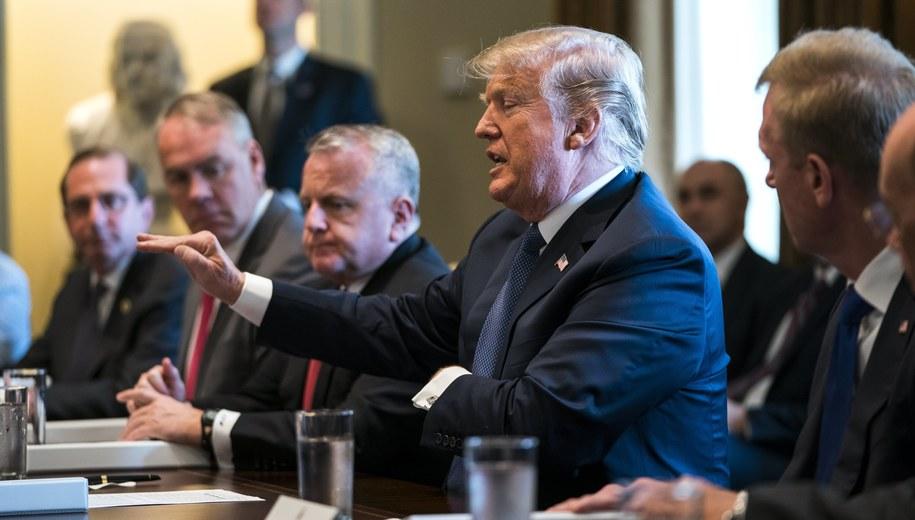 Donald Trump /JIM LO SCALZO /PAP/EPA