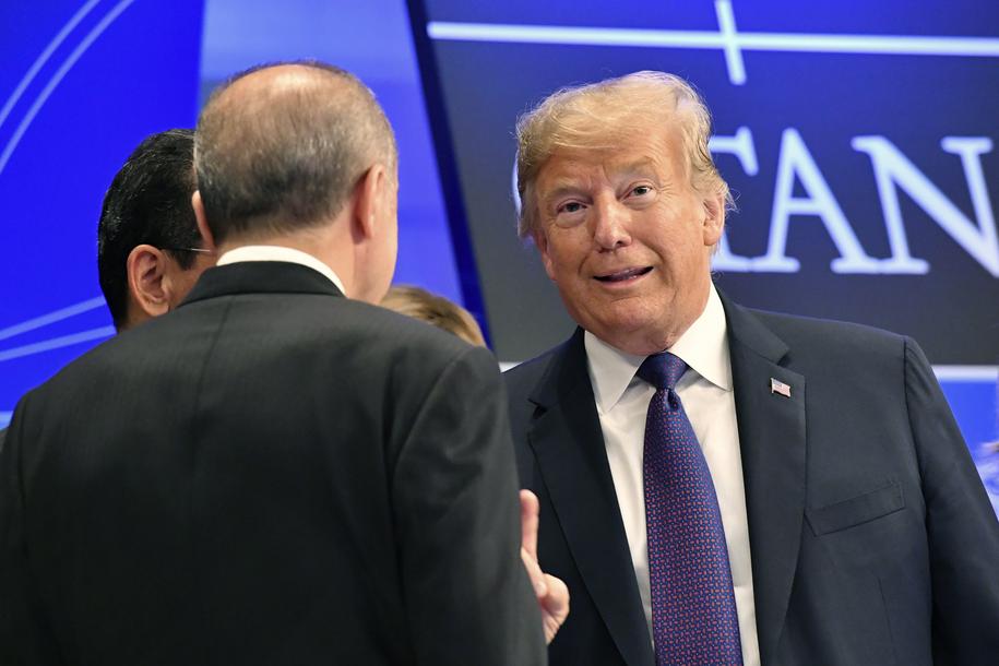 Donald Trump /GEERT VANDEN WIJNGAERT / POOL /PAP/EPA