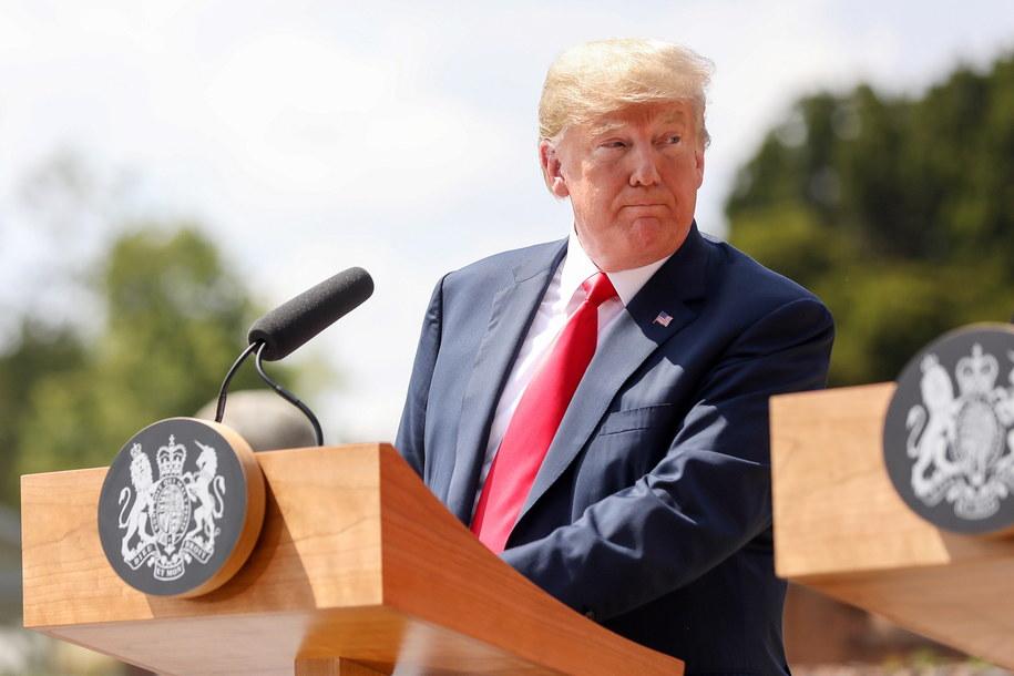 Donald Trump /CHRIS RATCLIFFE / POOL /PAP/EPA