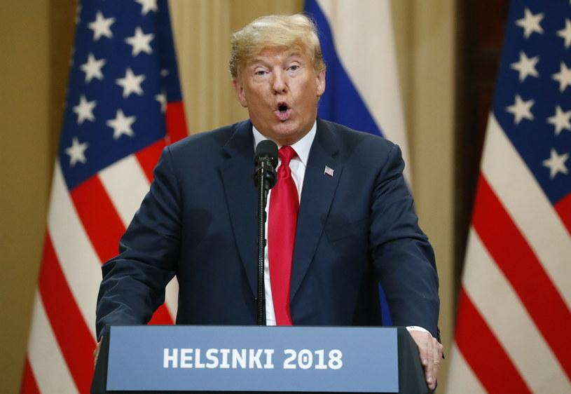 Donald Trump /ANATOLY MALTSEV  /PAP/EPA