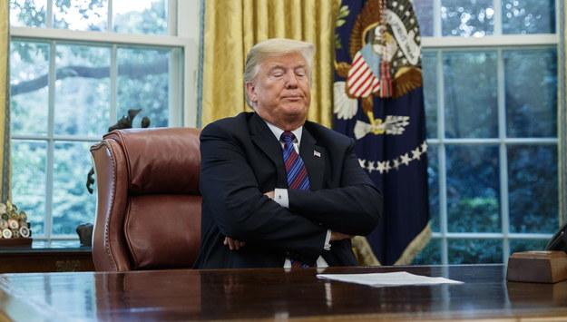Donald Trump /SHAWN THEW    /PAP/EPA