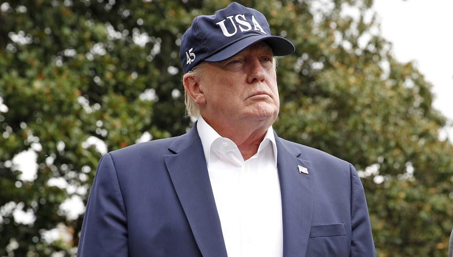 Donald Trump /MARTIN H. SIMON / POOL /PAP/EPA